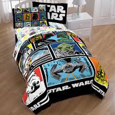 Star Wars Comforter Queen Star Wars Classic Grid Twin Bedding