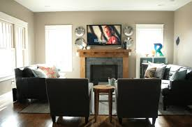 furniture placement in living room with fireplace and tv tv placement living room arrangement ideas