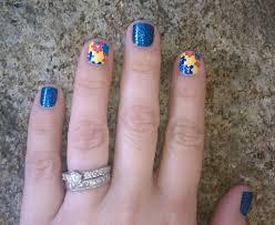 nail designs autism cute nail design ideas short nail design