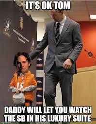 Peyton Manning Tom Brady Meme - 22 meme internet luxurysuite tombrady peytonmanning sb50 nfl