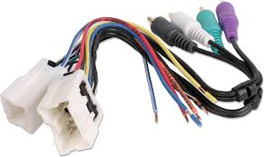 metra 70 7551 receiver wiring harness connect a new car stereo in