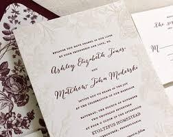 Letterpress Invitations Letterpress Wedding Invitations U0026 Personal By Dinglewooddesign