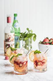 cocktail recipes a summery rosé spritzer the sweetest occasion