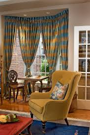 Dining Room Bay Window Treatments - bay window curtains dining room traditional with bay window bay