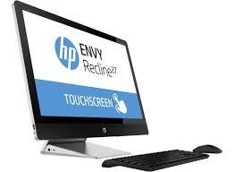 ordinateur de bureau tout en un hp hp envy recline 27 k030ef touchsmart prix promo pc tout en un