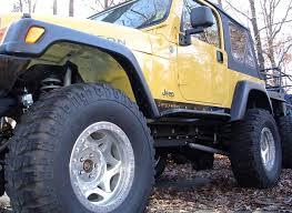 jeep rock sliders jeep tj rock sliders rocker guards rocker protection rock rails