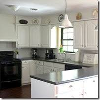 How To Paint Oak Kitchen Cabinets Remodelaholic Painting Oak Cabinets White And Gray