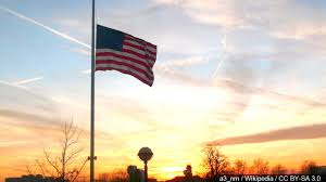 Flag Flown At Half Mast Indiana Michigan Residents Encouraged To Fly Flags At Half Staff