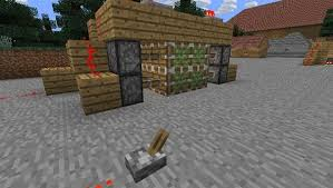 Minecraft How To Make Bathroom How To Make An Invisible Piston Door To Keep Your Hideout A Secret