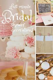 wedding shower decorations 10 last minute bridal shower decoration ideas wedding shower