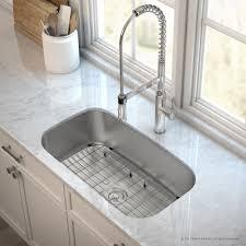 Single Bowl Kitchen Sink Undermount Kraus Outlast Microshield Scratch Resist Stainless Steel