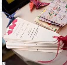 fan programs diy diy wedding invitations programs and more