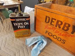 create a table from vintage crates minwax blog