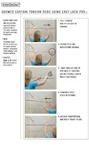 42 Inch Shower Curtain Interdesign Shower Curtains Shower Curtains Outlet