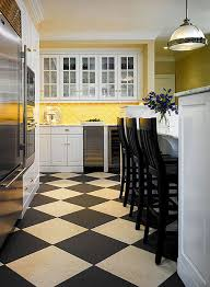 Tile Floor Designs For Kitchens by Design Ideas For White Kitchens Traditional Home