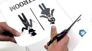 Bathroom Sign Language Diy Magician Bathroom Sign Print Your Own Party Decor Printy Ca