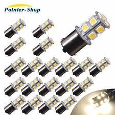 travel trailer led lights 20x warm white 1156 13 smd rv cer trailer led interior light