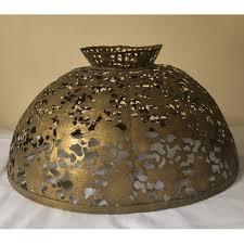 Chandelier Shade Antique Indian Brass Chandelier Shade Chairish