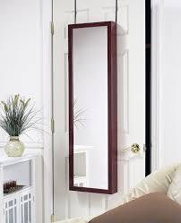 over the door cabinet plaza astoria over the door wall mount jewelry armoire with full