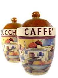 italian canisters kitchen kitchen canisters