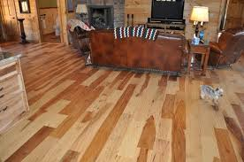 scraped hickory floor ozark hardwood flooring