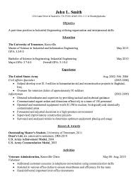 Chemical Engineering Resume Examples by Industrial Engineering Resume Example Http Resumesdesign Com