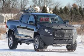 concept off road truck 2017 chevrolet colorado zr2 caught testing
