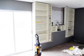 Narrow Billy Bookcase by Built In Billys Part 1 Chris Loves Julia