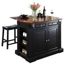 Kitchen Islands U0026 Tables Cherry Top Kitchen Island With Painted by Black Kitchen Islands U0026 Carts You U0027ll Love Wayfair