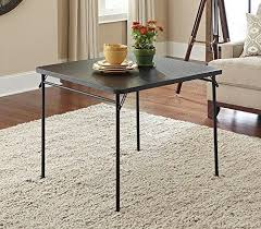 cosco square folding table folding tables easy home concepts