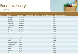 Excel Inventory Spreadsheet Download Restaurant Food Inventory Sheet And Food Storage Inventory Excel