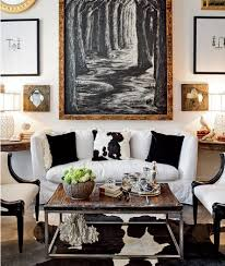 Cowhide Rug In Living Room Cowhide Pillow Contemporary Living Room Chicago Mag