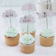 baby shower party supply cake toppers ebay