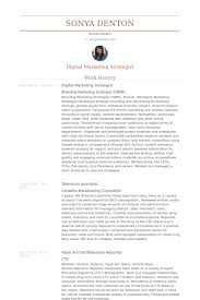 Marketing Resume Sample by Marketing Strategist Resume Samples Visualcv Resume Samples Database