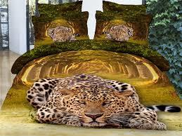 lion tiger leopard 3d bedding sets 3d bedding sets