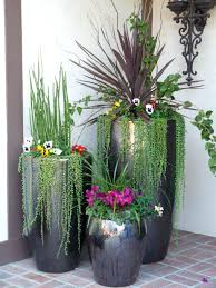 planter design front door planters for christmas shade porch flower pots plants