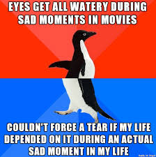 Watery Eyes Meme - some kind of stupid defense mechanism meme guy