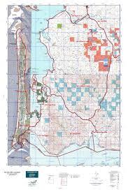 Oregon Blm Maps by Wa Gmu 684 Long Beach Map Mytopo