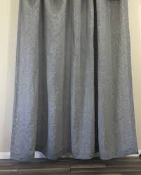 Grey Bathroom Curtains Chambray Grey Linen Shower Curtain Linen Mildew Free