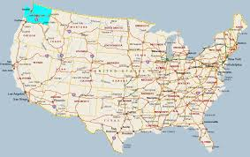 Map Washington 23 Funny And Interesting Maps That Show Just How Weird America