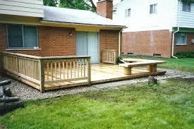 porch building plans porch ideas for mobile homes deck designs decks wide