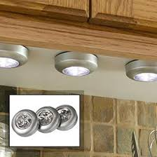 lights kitchen cabinets battery operated battery operated cabinet lights ls plus