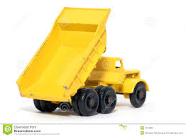 old toy car euclid dump truck stock images image 1974064