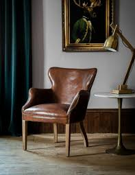 accent chairs for brown leather sofa armchair blue leather chairs sale old style armchair old style