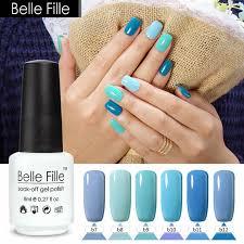 aliexpress com buy 8ml sky blue nail polish gel hybrid lacquer