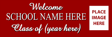 high school reunion banner school reunion print a banner pvc banners for any occasion