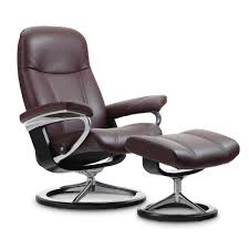 Recliner Ottoman Stressless Consul Signature Recliner Ottoman From 2 095 00 By