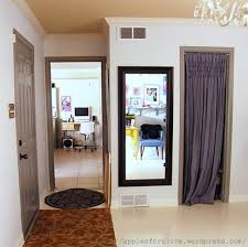 Curtains For Doorways Entryway Curtains Thumb Tacks Away Apples For Olive