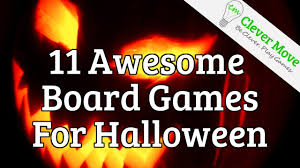 11 awesome board games for halloween 2015 youtube