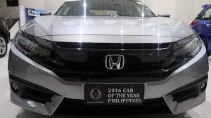 honda philippines 2017 honda civic rs turbo philippines quick tour vlog youtube